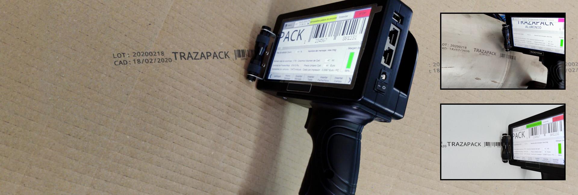 Impresora TIJ manual K112M - K125M