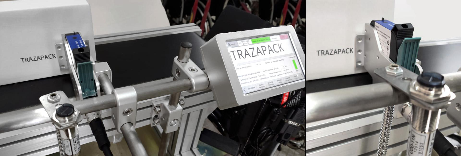 K112F impresora TIJ controlador + 1 cabezal